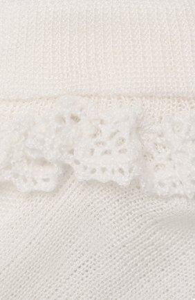 Детские носки CATYA белого цвета, арт. 014120 | Фото 2