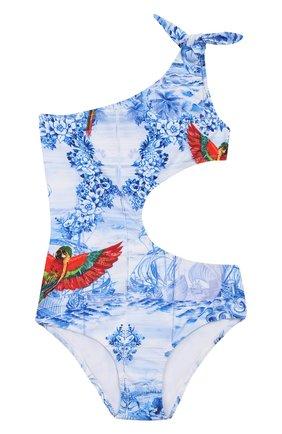 Детского слитный купальник STELLA JEAN KIDS голубого цвета, арт. 20E/J/JF/BW03/1610/4A-6A   Фото 1