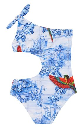 Детского слитный купальник STELLA JEAN KIDS голубого цвета, арт. 20E/J/JF/BW03/1610/4A-6A   Фото 2