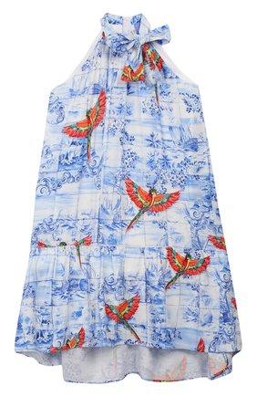 Детское платье STELLA JEAN KIDS голубого цвета, арт. 20E/J/JF/AB45/2712/8A-14A   Фото 1