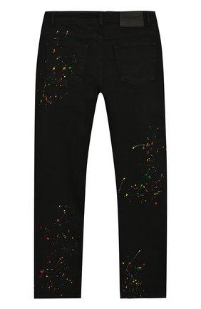 Детские джинсы MARCELO BURLON KIDS OF MILAN черного цвета, арт. 20E/B/MB/3062/1042/8-14Y   Фото 2