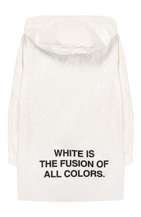 Детский ветровка FREEDOMDAY белого цвета, арт. EFRJG4315V-128 | Фото 2