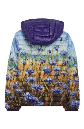 Детская куртка с капюшоном FREEDOMDAY фиолетового цвета, арт. EFRJG4317V-762 | Фото 2