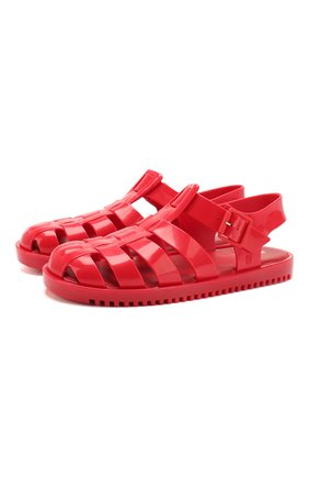 Детские сандалии MELISSA красного цвета, арт. 32701 | Фото 1