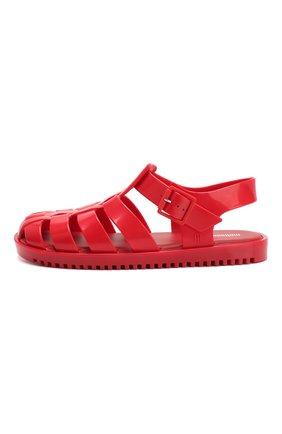 Детские сандалии MELISSA красного цвета, арт. 32701 | Фото 2