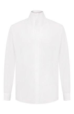 Мужская хлопковая рубашка 1017 ALYX 9SM белого цвета, арт. AAMSH0024FA02 | Фото 1