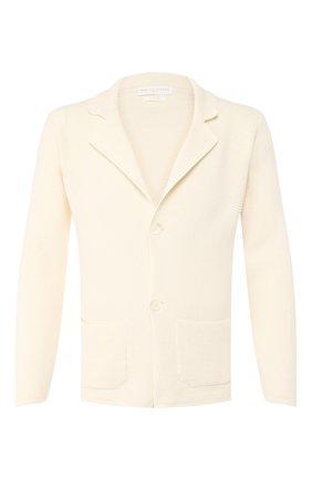 Мужской хлопковый пиджак DANIELE FIESOLI кремвого цвета, арт. DF 0062 | Фото 1