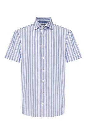 Мужская хлопковая рубашка VAN LAACK голубого цвета, арт. RIVARA-S-TF/156321   Фото 1
