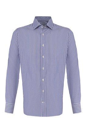 Мужская хлопковая сорочка VAN LAACK синего цвета, арт. RIVARA-SFN/151792 | Фото 1