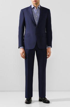 Мужская хлопковая сорочка VAN LAACK синего цвета, арт. RIVARA-SFN/151792 | Фото 2