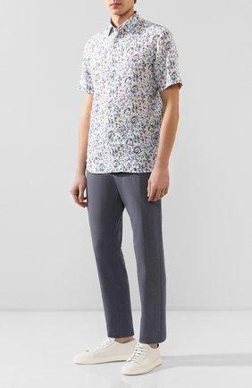 Мужская льняная рубашка VAN LAACK разноцветного цвета, арт. LET0N1-S-TFW/171474 | Фото 2