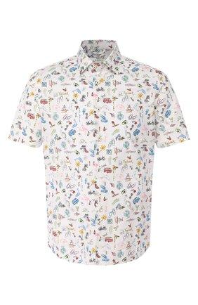 Мужская хлопковая рубашка VAN LAACK разноцветного цвета, арт. LET0N1-S-SFW/171468 | Фото 1