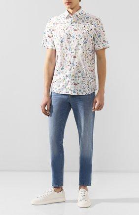 Мужская хлопковая рубашка VAN LAACK разноцветного цвета, арт. LET0N1-S-SFW/171468 | Фото 2
