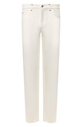 Мужские джинсы ZILLI белого цвета, арт. MCT-00210-DEWH1/R001 | Фото 1