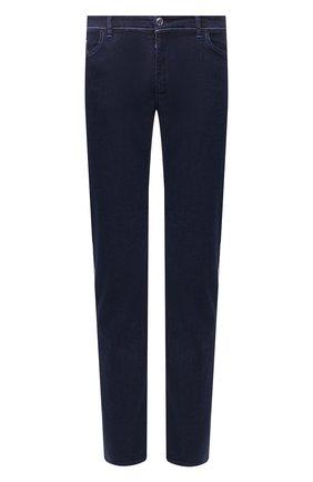 Мужские джинсы ZILLI темно-синего цвета, арт. MCT-ZS011-SP0RT/S001 | Фото 1
