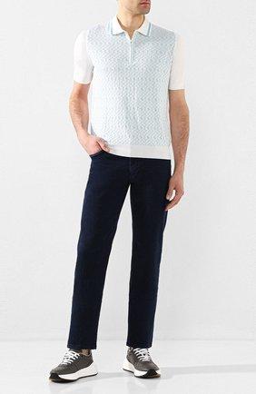 Мужские джинсы ZILLI темно-синего цвета, арт. MCT-ZS011-SP0RT/S001 | Фото 2