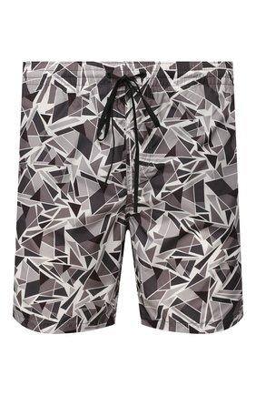 Детского плавки-шорты FENDI серого цвета, арт. FXB078 AAXW | Фото 1