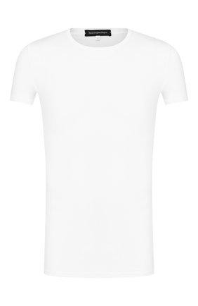 Мужские футболка ERMENEGILDO ZEGNA белого цвета, арт. N3M200990 | Фото 1