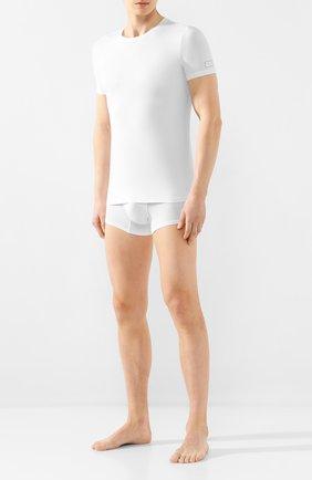 Мужские футболка ERMENEGILDO ZEGNA белого цвета, арт. N3M200990 | Фото 2