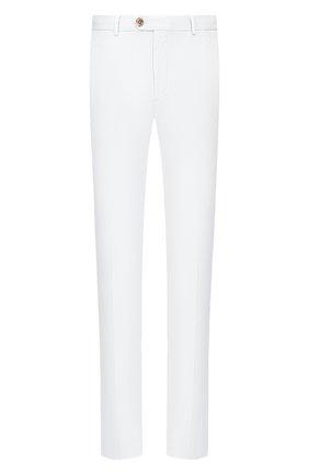 Мужские хлопковые брюки RALPH LAUREN белого цвета, арт. 790802188 | Фото 1