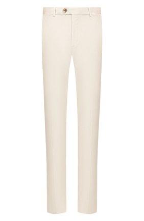 Мужской хлопковые брюки RALPH LAUREN светло-бежевого цвета, арт. 790802188 | Фото 1