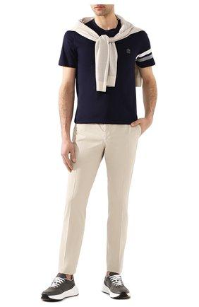 Мужской хлопковые брюки RALPH LAUREN светло-бежевого цвета, арт. 790802188 | Фото 2