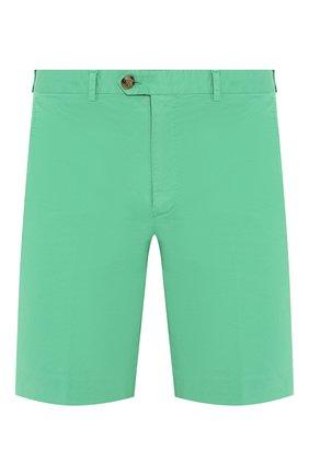 Мужские хлопковые шорты RALPH LAUREN зеленого цвета, арт. 790800040 | Фото 1