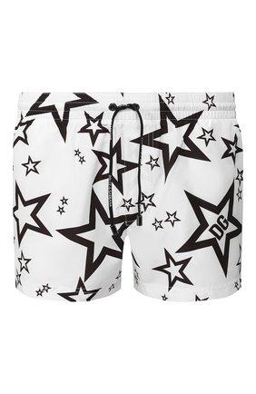 Детского плавки-шорты DOLCE & GABBANA белого цвета, арт. M4A06T/HSMH0 | Фото 1