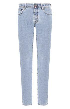 Мужские джинсы VILEBREQUIN голубого цвета, арт. VBMP0001-00970-W6 | Фото 1