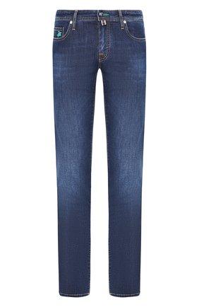 Мужские джинсы VILEBREQUIN синего цвета, арт. VBMP0006-00517-W2 | Фото 1
