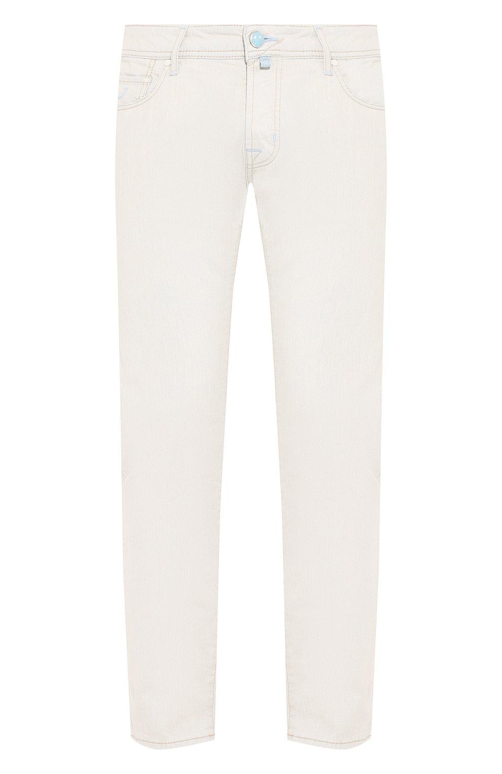 Мужские джинсы JACOB COHEN светло-голубого цвета, арт. J688 C0MF 01539-L/53 | Фото 1