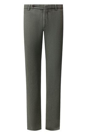 Мужской шерстяные брюки BERWICH зеленого цвета, арт. SC/1/MZ0260B | Фото 1