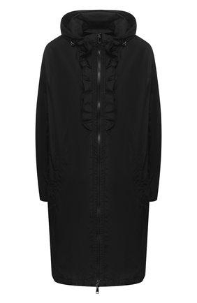 Женский плащ sauge MONCLER черного цвета, арт. F1-093-1C721-00-C0063 | Фото 1