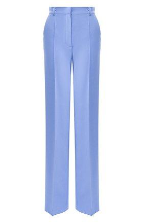 Женские брюки из вискозы LESYANEBO голубого цвета, арт. SS20/H-157   Фото 1
