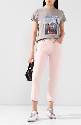 Женские джинсы CITIZENS OF HUMANITY розового цвета, арт. 1801C-1185 | Фото 2