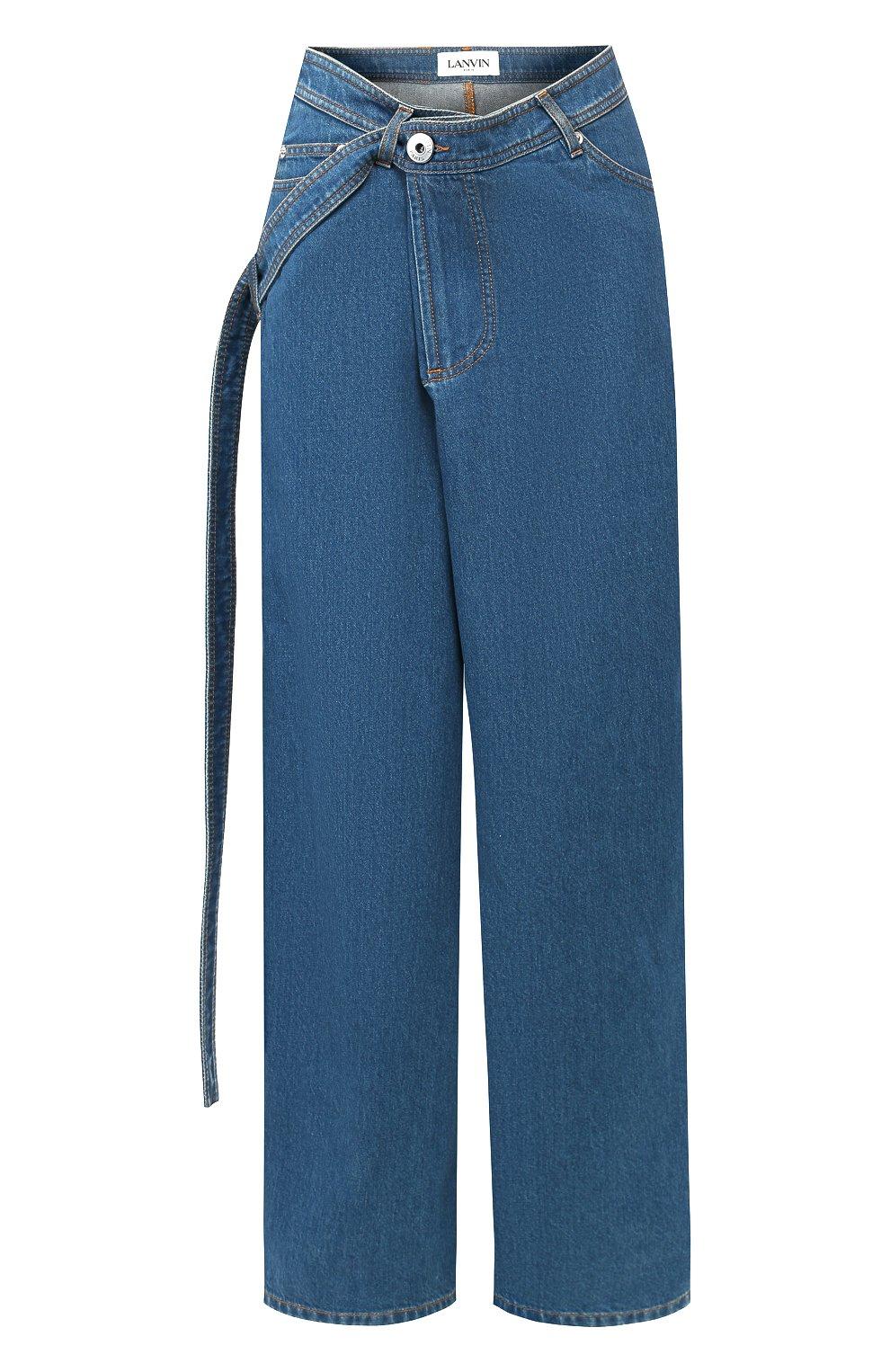 Женские джинсы LANVIN синего цвета, арт. RW-TR527D-DZ01-E20   Фото 1