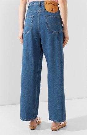 Женские джинсы LANVIN синего цвета, арт. RW-TR527D-DZ01-E20   Фото 4