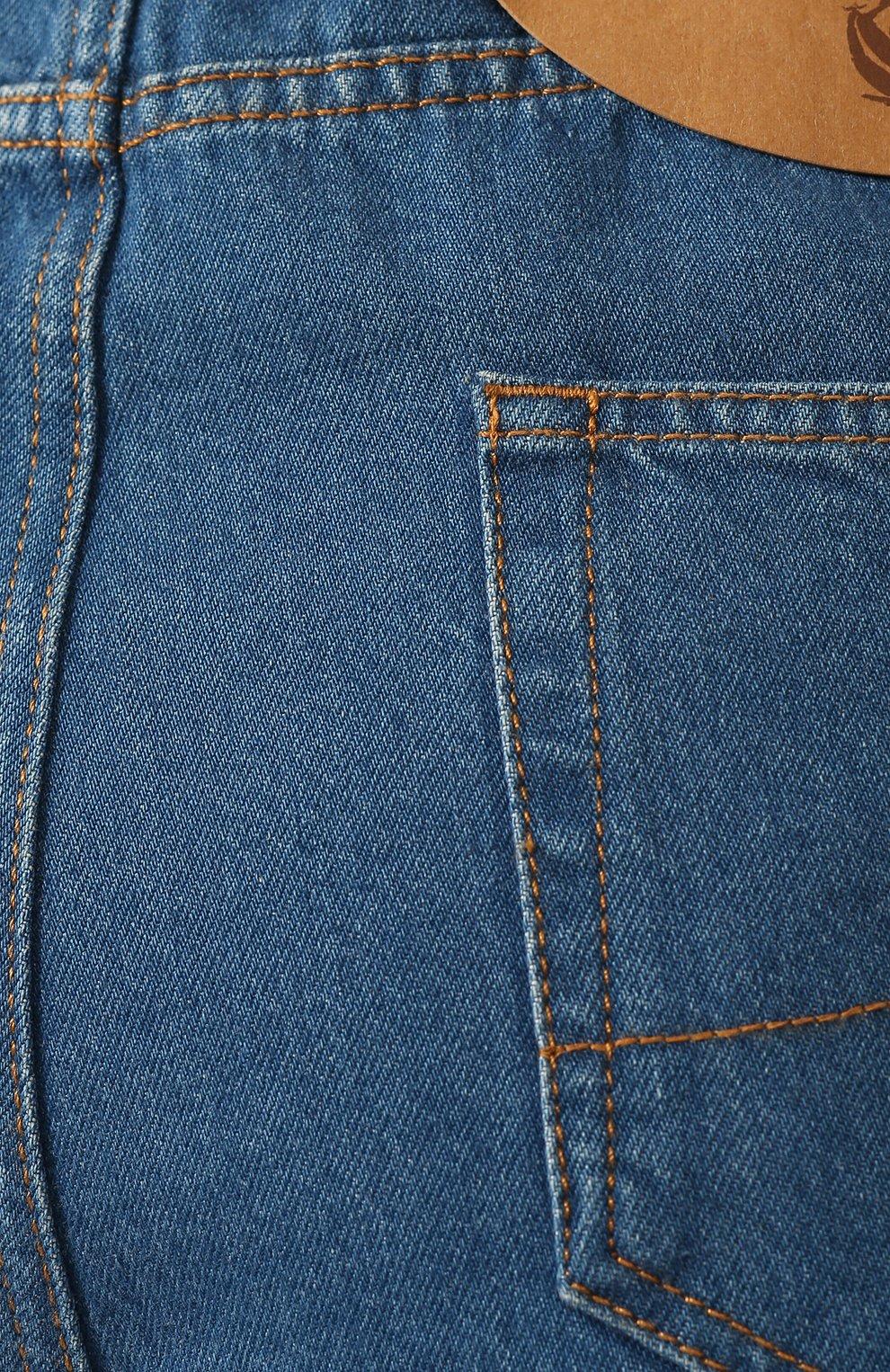 Женские джинсы LANVIN синего цвета, арт. RW-TR527D-DZ01-E20   Фото 5
