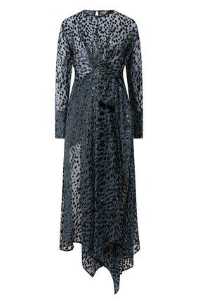 Женское платье PETAR PETROV бирюзового цвета, арт. AIDA S20D12 | Фото 1