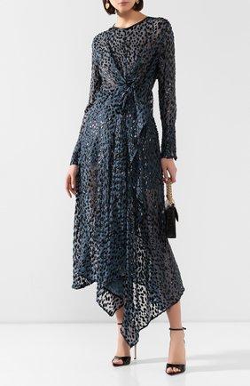 Женское платье PETAR PETROV бирюзового цвета, арт. AIDA S20D12 | Фото 2