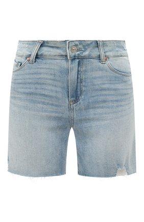 Женские джинсовые шорты PAIGE голубого цвета, арт. 5140F72-7653 | Фото 1