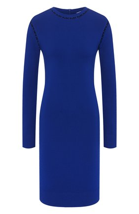 Женское платье из вискозы MICHAEL MICHAEL KORS синего цвета, арт. MF98ZGABVC | Фото 1