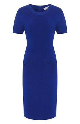 Женское платье из вискозы MICHAEL MICHAEL KORS синего цвета, арт. MF98ZGTBVC | Фото 1