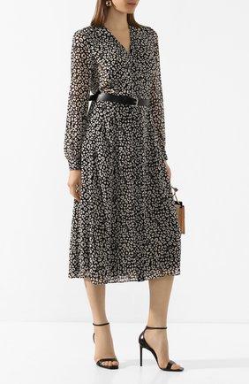 Женское платье с ремнем MICHAEL MICHAEL KORS черно-белого цвета, арт. MH98Y46DDM | Фото 2
