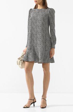 Женское мини-платье MICHAEL MICHAEL KORS черно-белого цвета, арт. MH98ZEXDFG | Фото 2