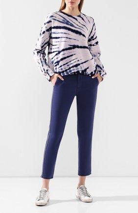 Женские брюки AG синего цвета, арт. SBW1995GX/BING | Фото 2