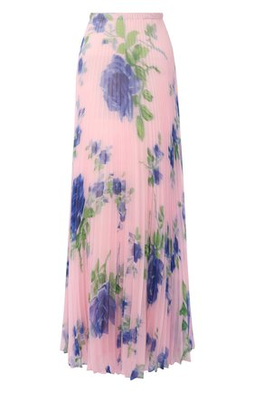 Женская юбка-макси PHILOSOPHY DI LORENZO SERAFINI розового цвета, арт. A0124/2184 | Фото 1