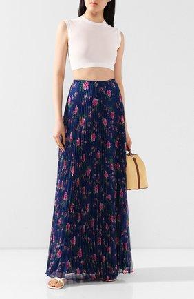 Женская юбка-макси PHILOSOPHY DI LORENZO SERAFINI синего цвета, арт. A0124/2184 | Фото 2