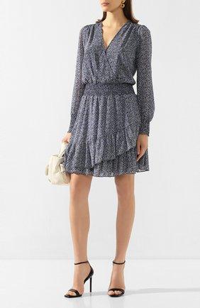 Женское платье MICHAEL MICHAEL KORS голубого цвета, арт. MH98XEYDGZ | Фото 2