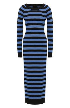Женское платье из вискозы MICHAEL MICHAEL KORS синего цвета, арт. MH98ZBPBVC | Фото 1